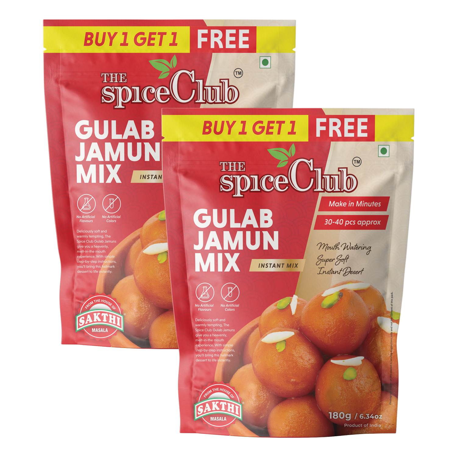 Gulab Jamun Mix 180gm - (Buy One & Get One Free)