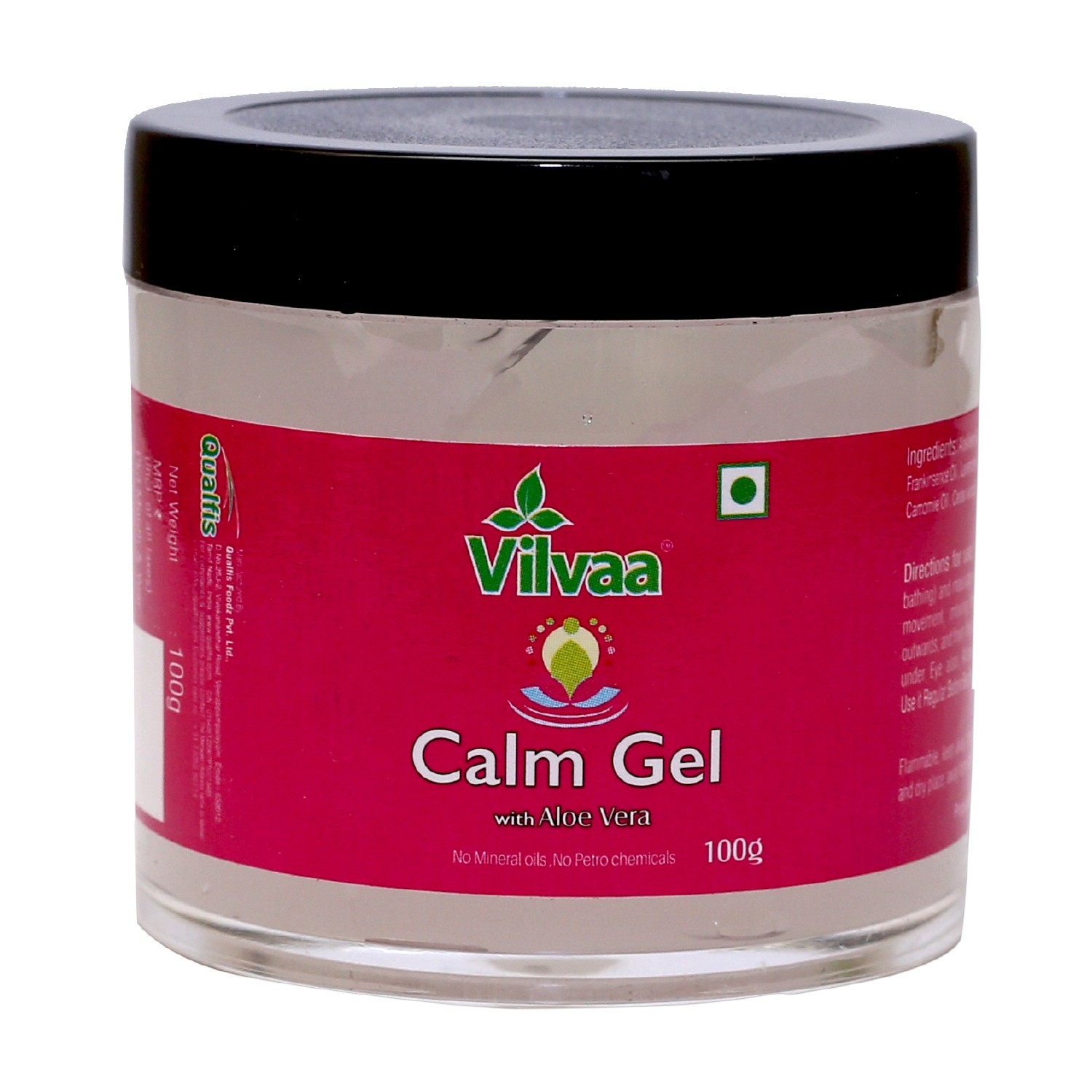 Vilvaa Calm Gel With Aloe Vera - 100g